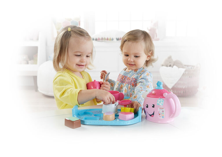 Fisher-Price Laugh & Learn Sweet Manners Tea Set - English Edition