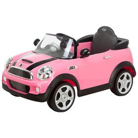 Avigo - 6 Volt Mini Cooper Ride-On - Pink