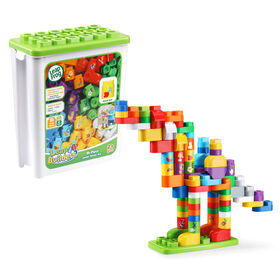 LeapFrog LeapBuilders 81-Piece Jumbo Blocks Box - English Edition