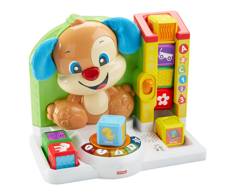 Fisher-Price Laugh & Learn First Words Smart Puppy - French Edition