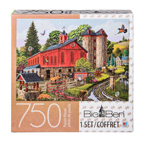 Big Ben 750-Piece Adult Jigsaw Puzzle - The Farm