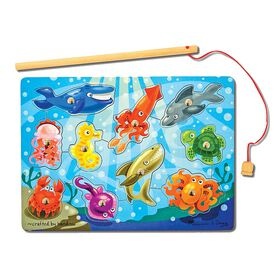 Melissa & Doug - Fishing Magnetic Puzzle Game