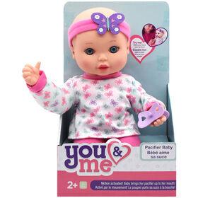 You & Me - Magic Pacifier Baby