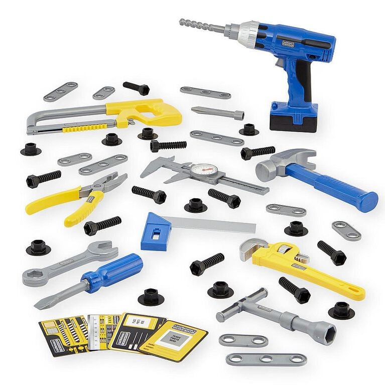 Just Like Home Workshop Power Tool Set - 45-Piece