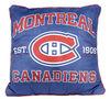 Coussin d'équipe de la LNH - Canadiens de Montreal