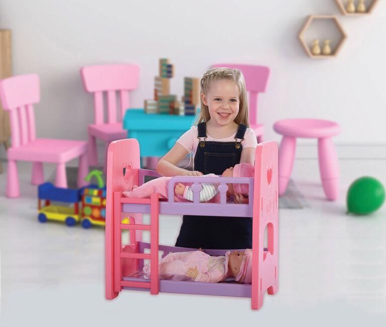 You & Me - Lit superposé de poupée bébé