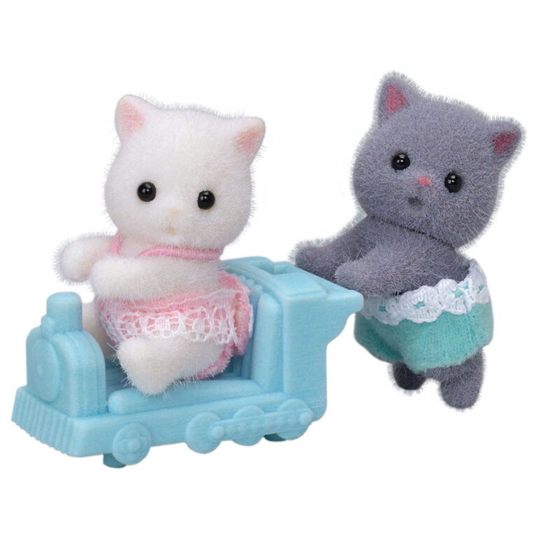 Calico Critters Les Jumeaux Chat Persan