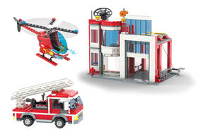 Block Tech - Firefighter Squad: Fire Station 603 pc