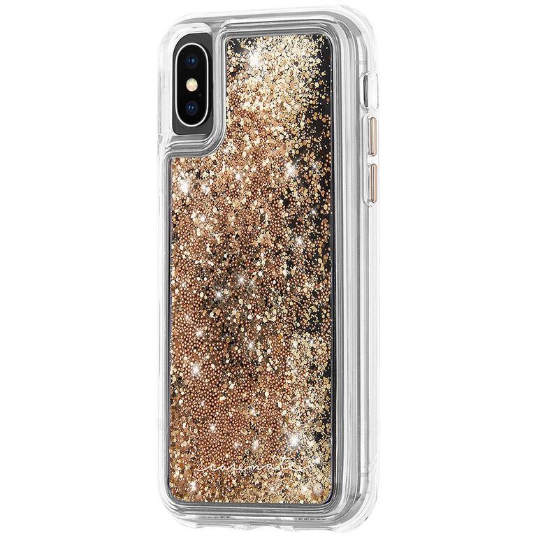 Étui Waterfall de Case-Mate pour iPhone Xs/X, or