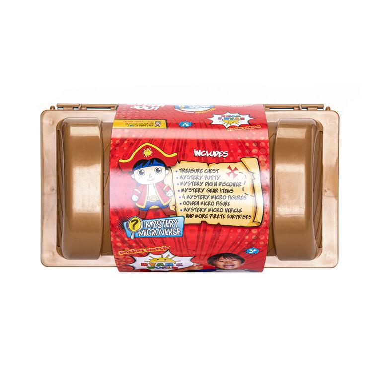 Ryan's World Cap'n Ryan's Micro Mystery Treasure Chest - R Exclusive