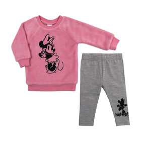 Disney Minnie Mouse 2pc Tunic Set - Pink, 12 Months