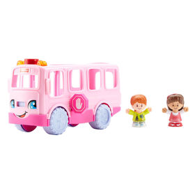 Fisher-Price Little People - L'Autobus de l'Amitié - Rose - Édition anglaise