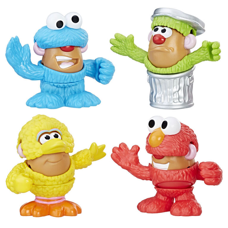 Playskool Friends Mr Potato Head - Sesame Street Minivalise de patates