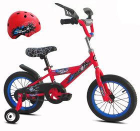 Avigo Webhead Bike with Helmet - 14 inch