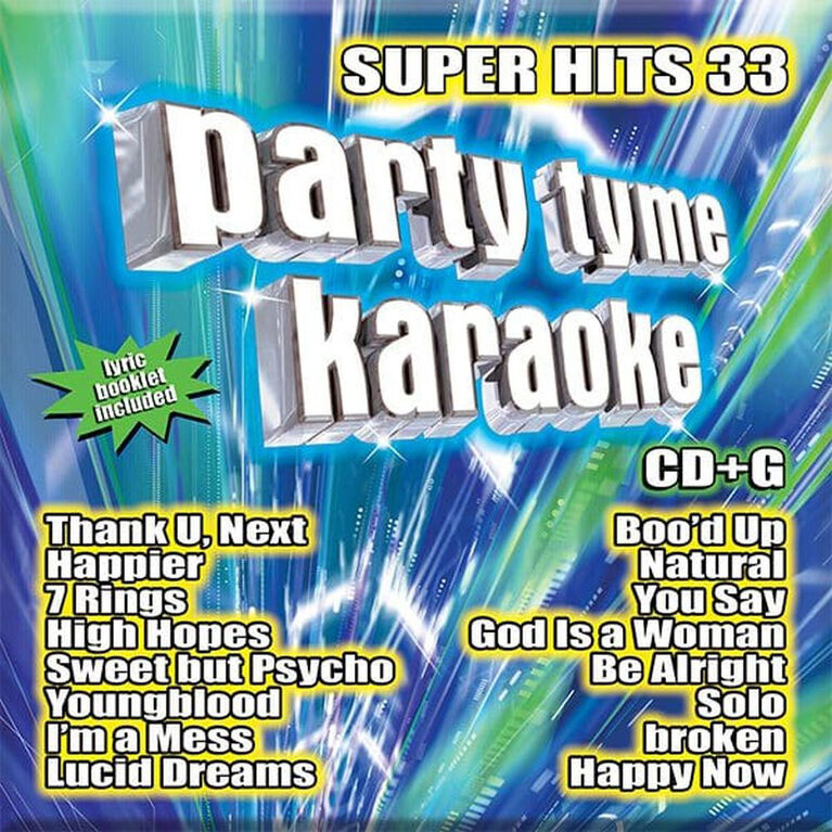 Party Tyme Karaoke Super Hits 33