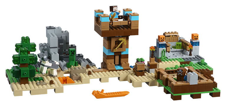 LEGO Minecraft The Crafting Box 20 21135