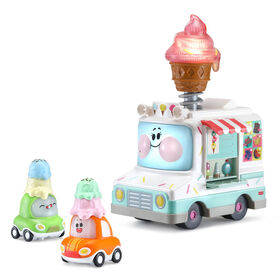 VTech Go! Go! Cory Carson Two Scoops Eileen Ice Cream Truck - English Edition