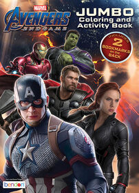 Avengers EndGame Jumbo Colouring and Activity Book