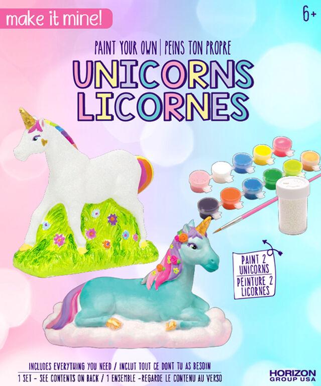 Make It Mine Plaster Unicorns