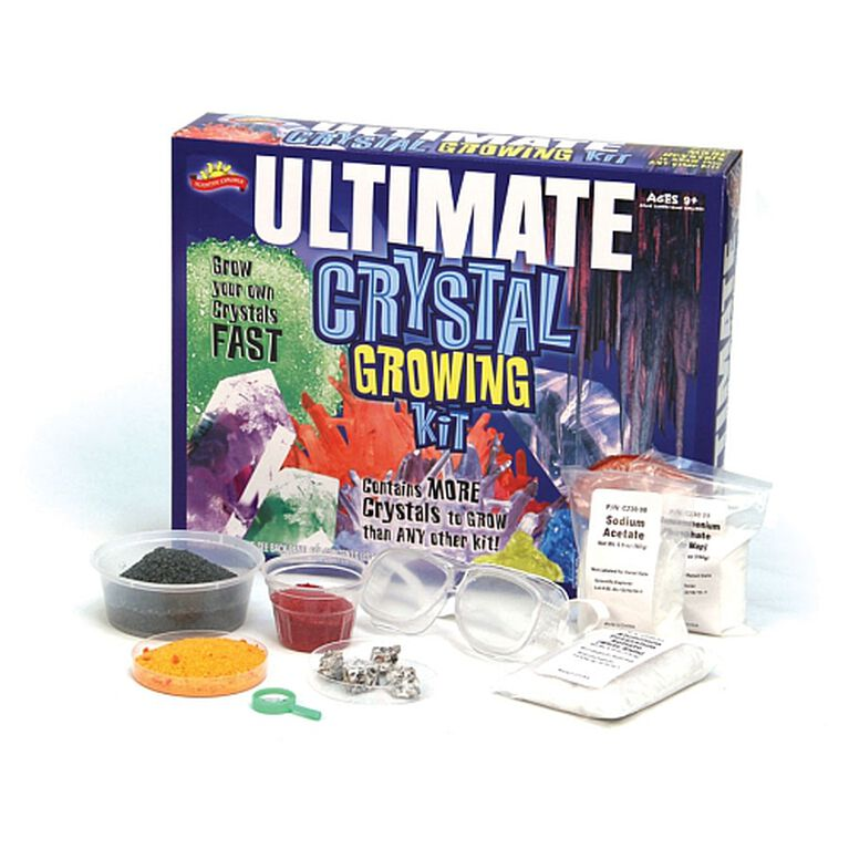 Scientific Explorer - Ultimate Crystal Growing Kit - only at Toys R Us Canada - R Exclusive