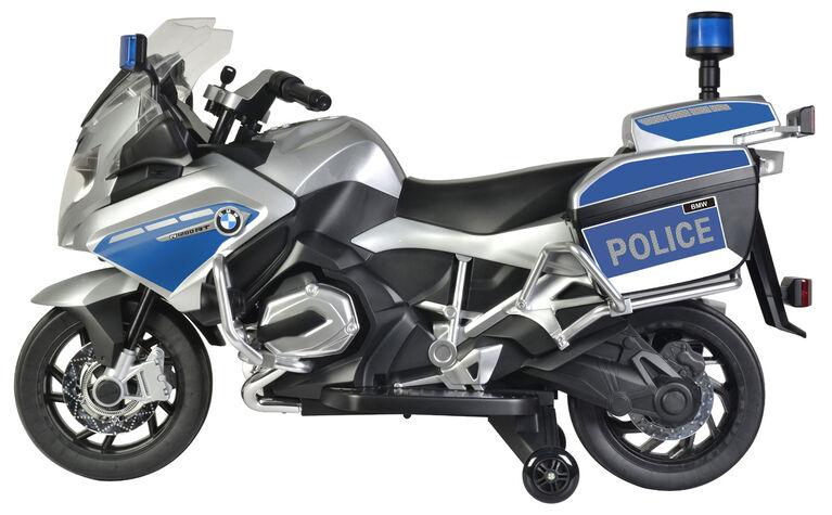 BMW Police Argent