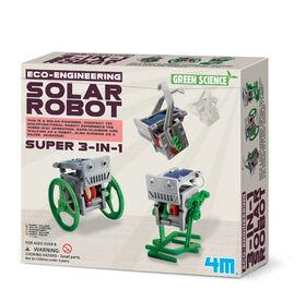 4M 3-in-1 Solar Robot