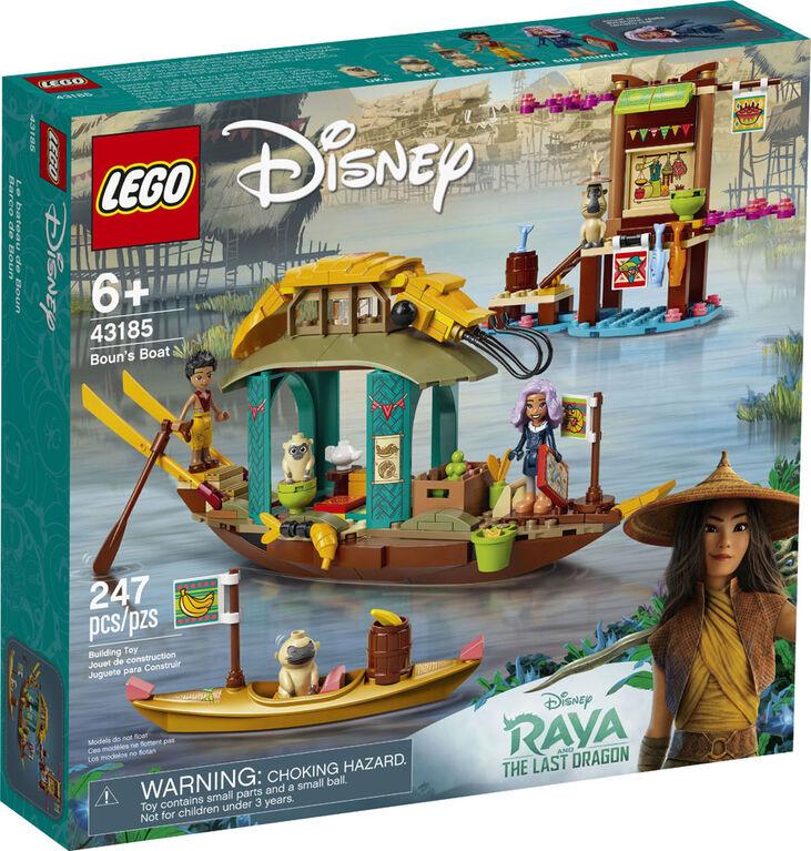 LEGO Disney's Raya and the Last Dragon Princess Boun's Boat 43185