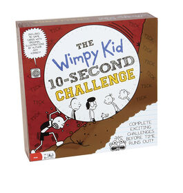 Pressman: Diary of a Wimpy Kid: 10 Second Challenge Game - English Edition