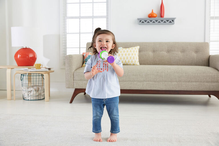 Fisher-Price Laugh & Learn Rock & Record Microphone - English Edition