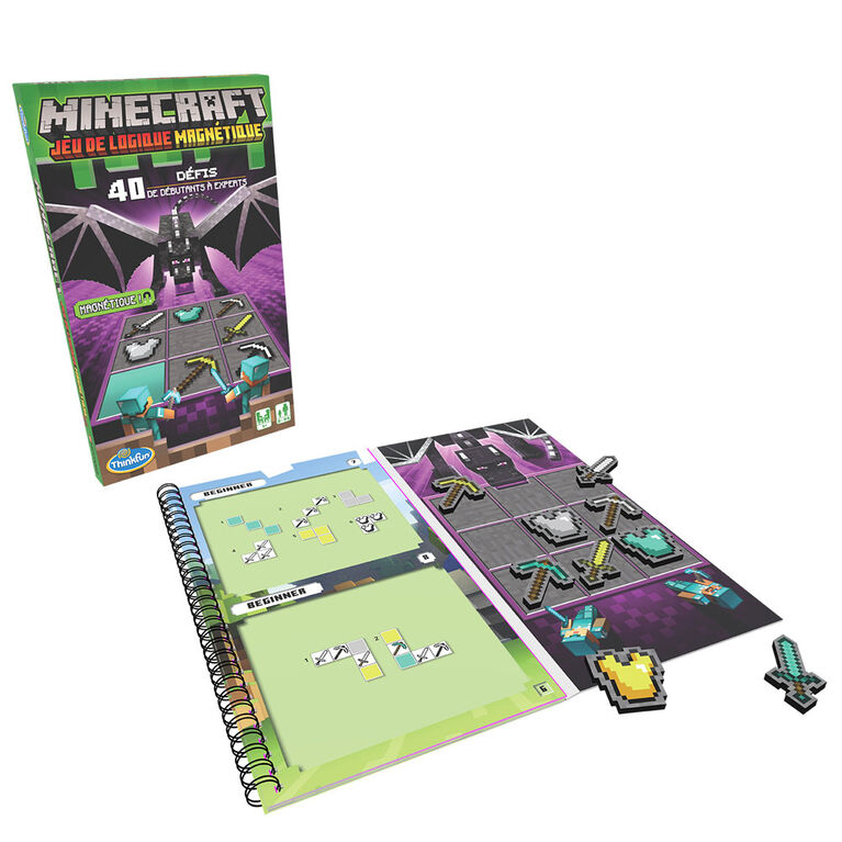 Thinkfun - Minecraft Magnetic Travel Puzzle - French Only