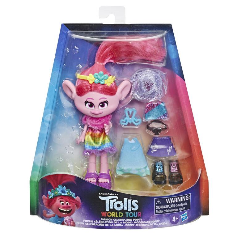 DreamWorks Trolls World Tour Fashion Celebration Poppy - R Exclusive