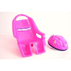 You & Me - Doll Helmet & Carrier for Children's Bicycles