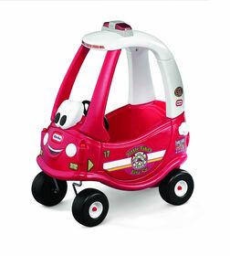 Little Tikes - Camion d'incendie Ride & Rescue Cozy Coupe - Notre exclusivité
