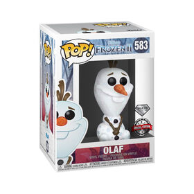Funko POP! Movies: Frozen 2 - Olaf (Diamond Glitter) - R Exclusive