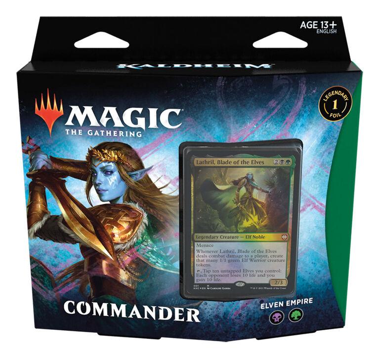 "Magic The Gathering ""Kaldheim"" Commander Deck-Elven Empire"