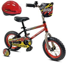 Avigo Full Throttle with Helmet - 12 inch Bike