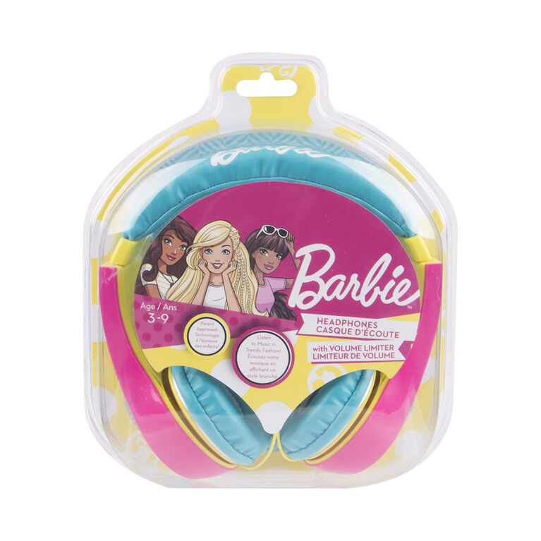 Barbie - Kid Safe Headphones