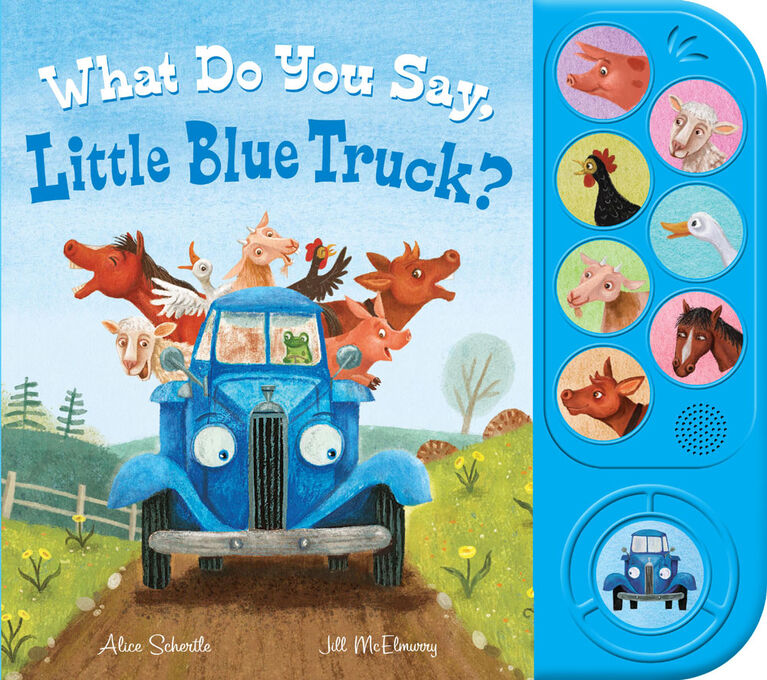 What You Say Little Blue Truck Sound - Édition anglaise