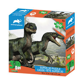 Animal Planet: Velociraptor – 150 Piece 3D Puzzle