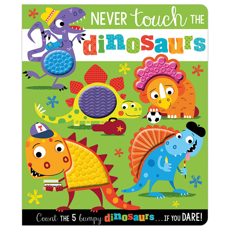 Never Touch the Dinosaurs - English Edition