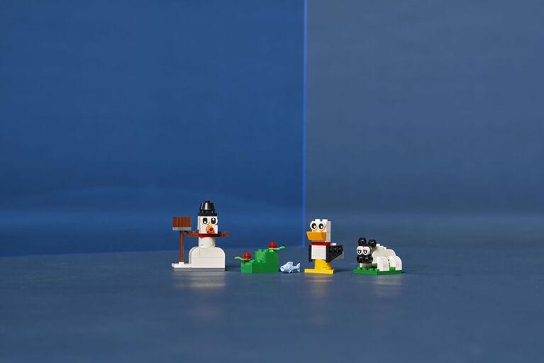 LEGO Classic Briques blanches créatives 11012
