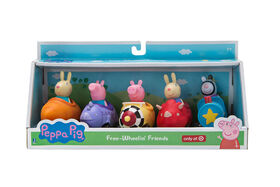 Peppa Pig 5 Pack Mini Buggy