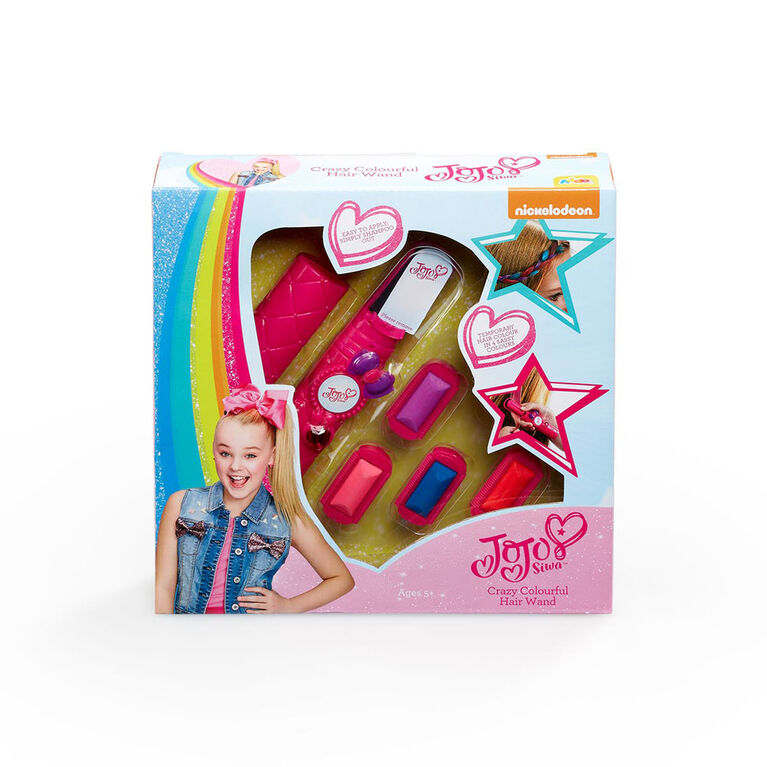 Coffret JoJo Siwa Crazy Colourful Hair Wand - Édition anglaise