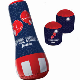 Franklin Sports Future Champs Punching Bag and Gloves