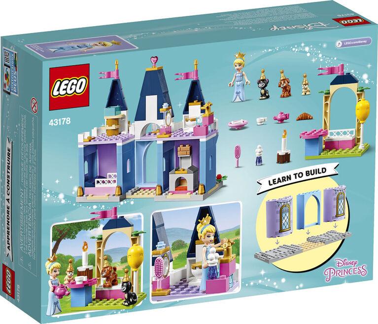 LEGO Disney Princess La célébration au château de Cendrillon 43178