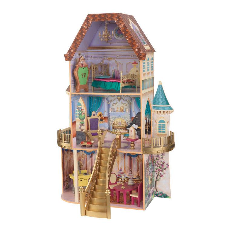 KidKraft - Disney Princess Belle Enchanted Dollhouse
