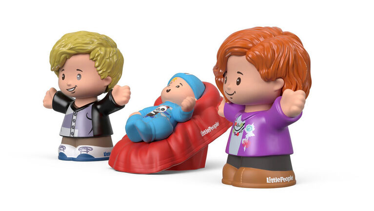Fisher-Price - Little People Big Helpers Family - Red