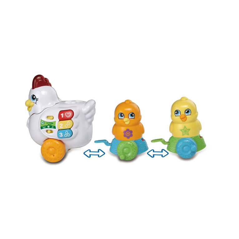 LeapFrog Learn & Roll Chickens - French Edition