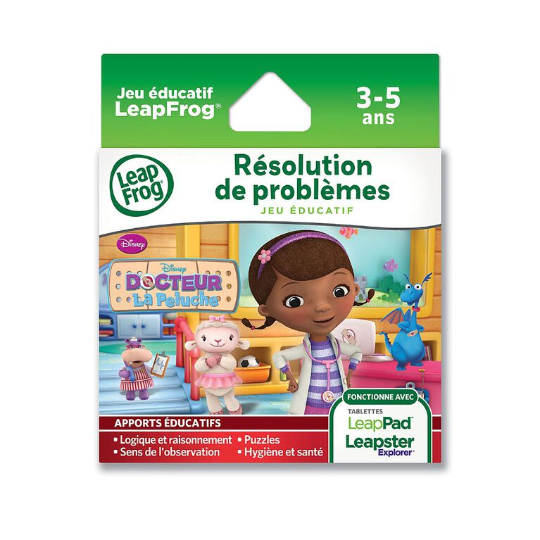 LeapFrog - Explorer Disney: Doc McStuffins Learning Game French