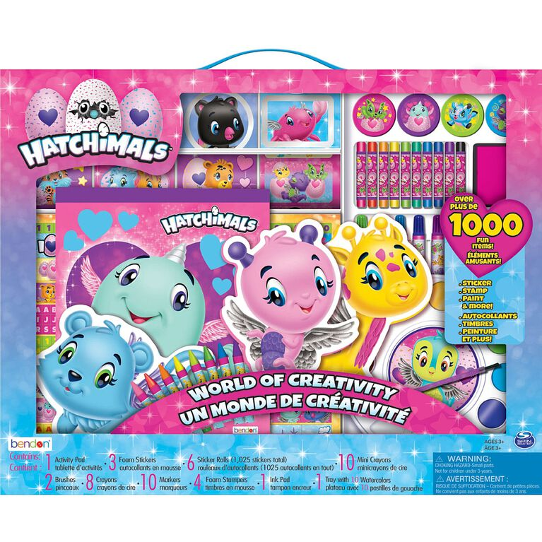 Hatchimals  Large Sticker Stationery Box